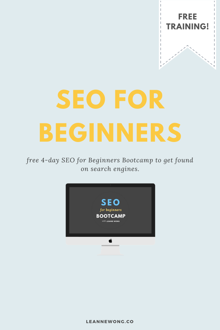 SEO Free Course: Learn the Basics of Search Engine Optimization for Bloggers