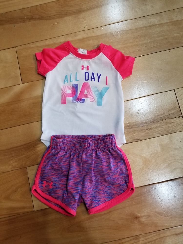 f822972ab3c Infant Baby Girl Under Armour 3-6 Months Outfit  fashion  clothing  shoes