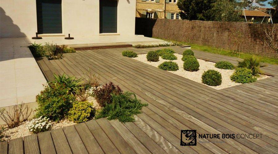 Terrasse Bois Exotique Cumaru - Client Nature Bois Concept | Jardin