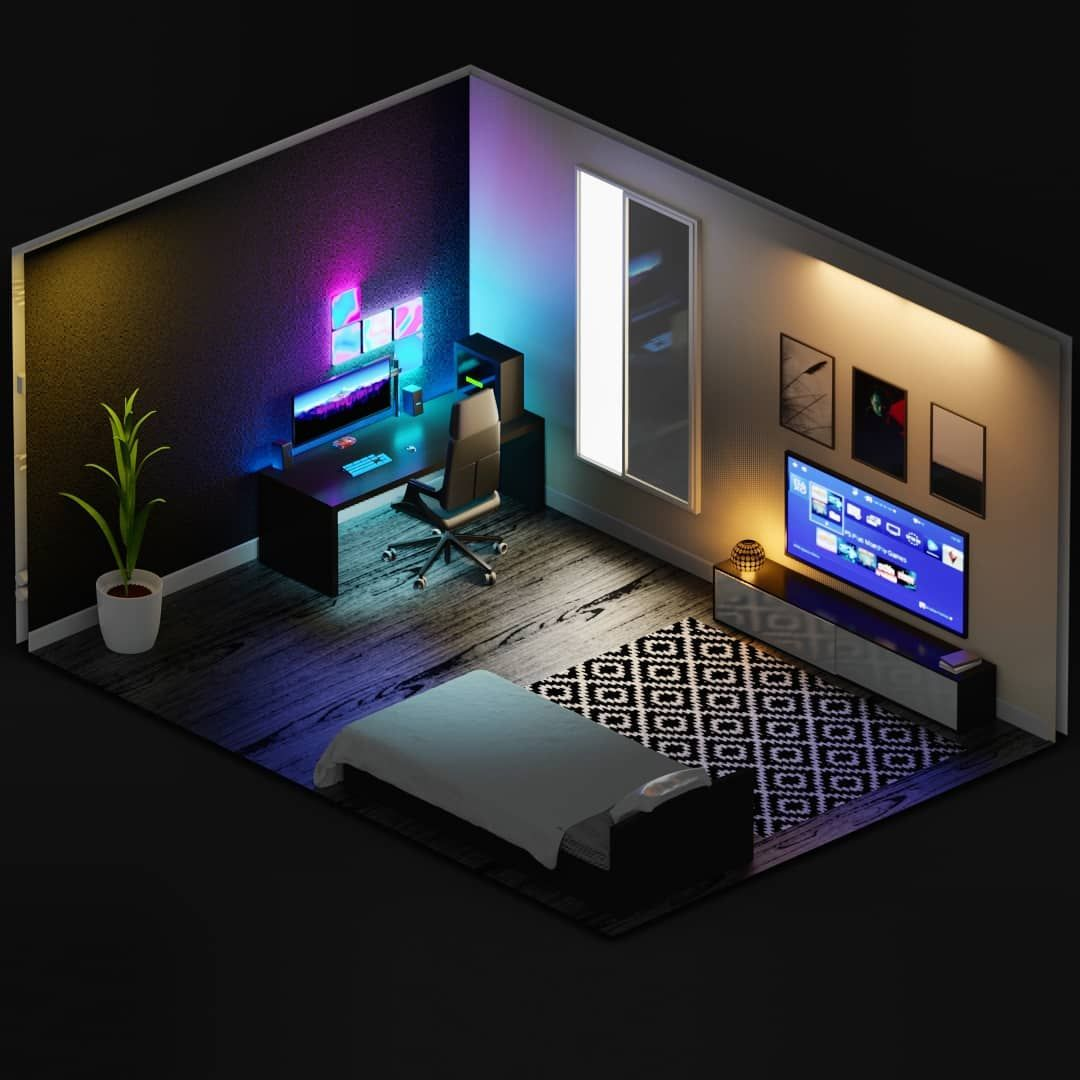 "Amr Ṭaha On Instagram: ""Another Simple Isometric 3D Design"
