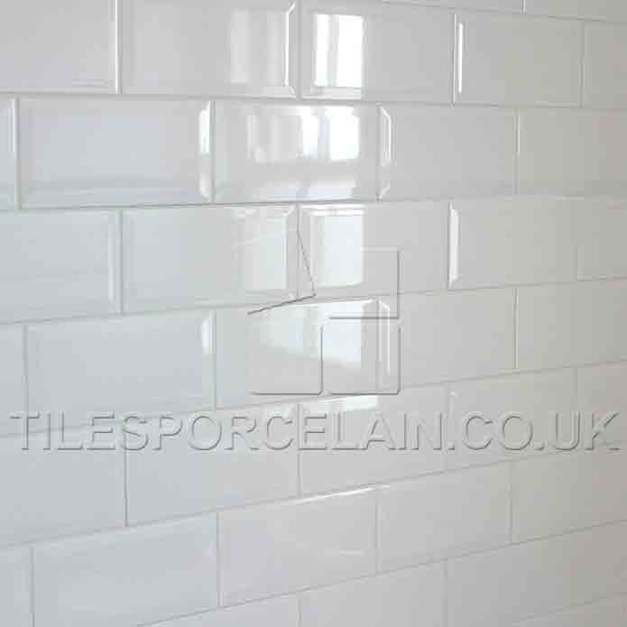 White Metro Brick Effect Ceramic Tiles | bathroom | Pinterest | Bricks