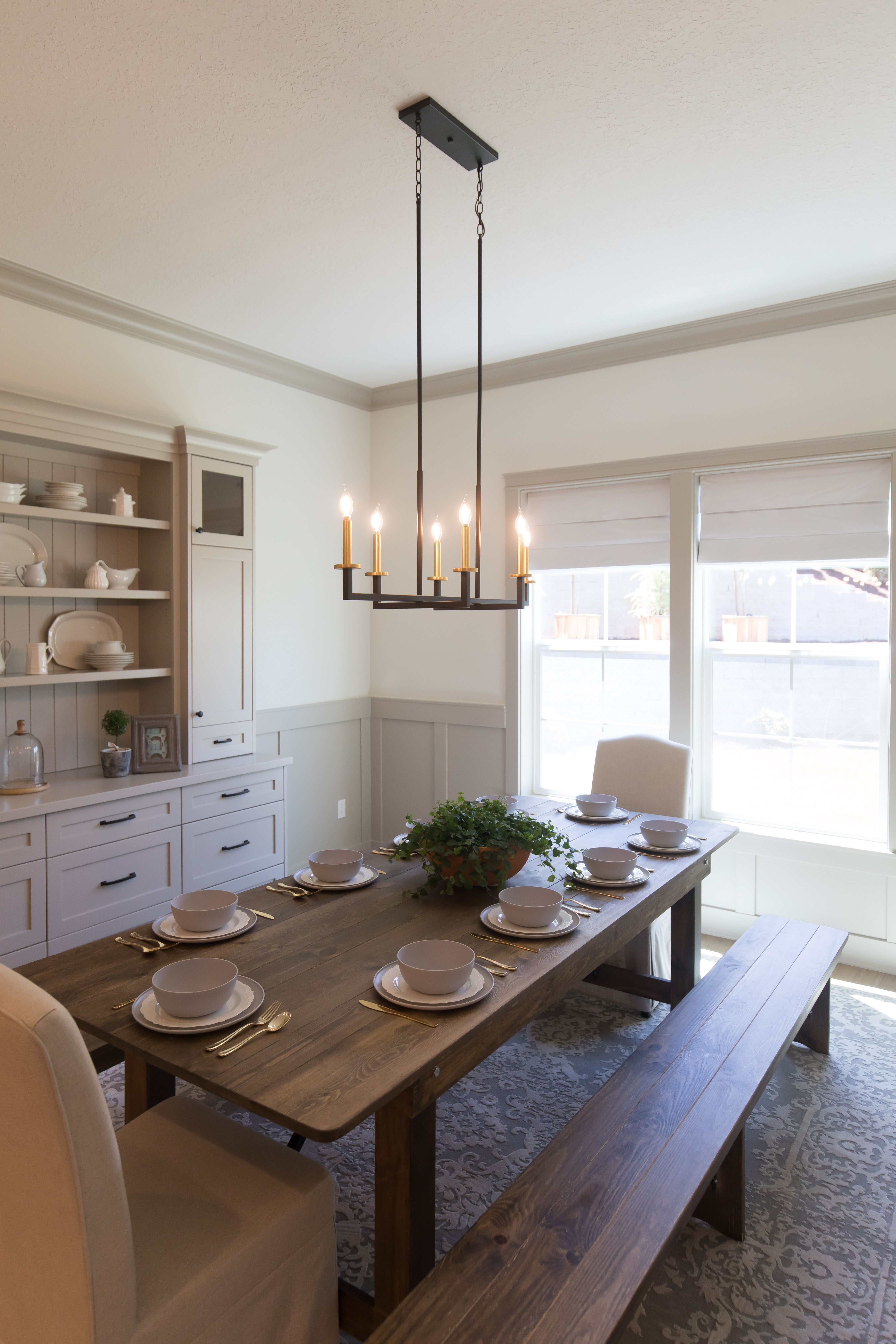 This Modern Stylish Blakely Chandelier Creates A Statement In This