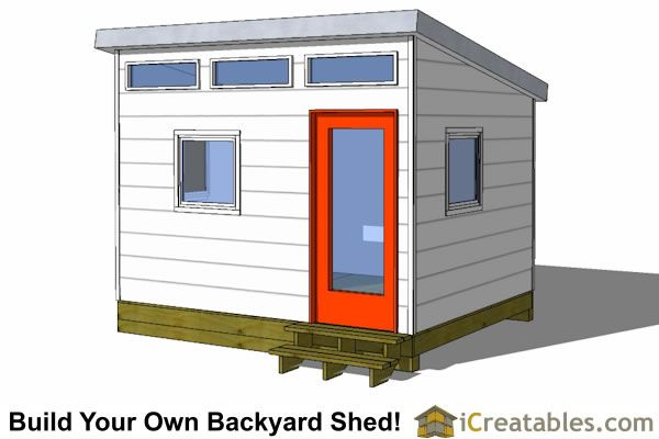 Gentil Backyard Office Shed Plans