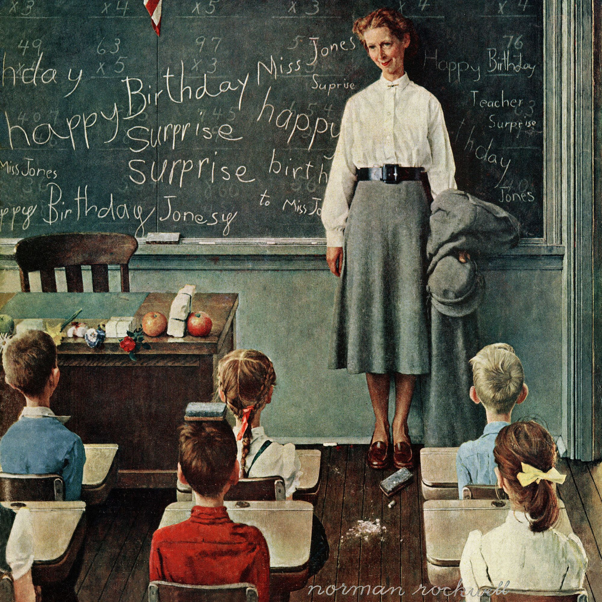 Pin by Adam Jackson Fine Art on Norman Rockwell (With images ...