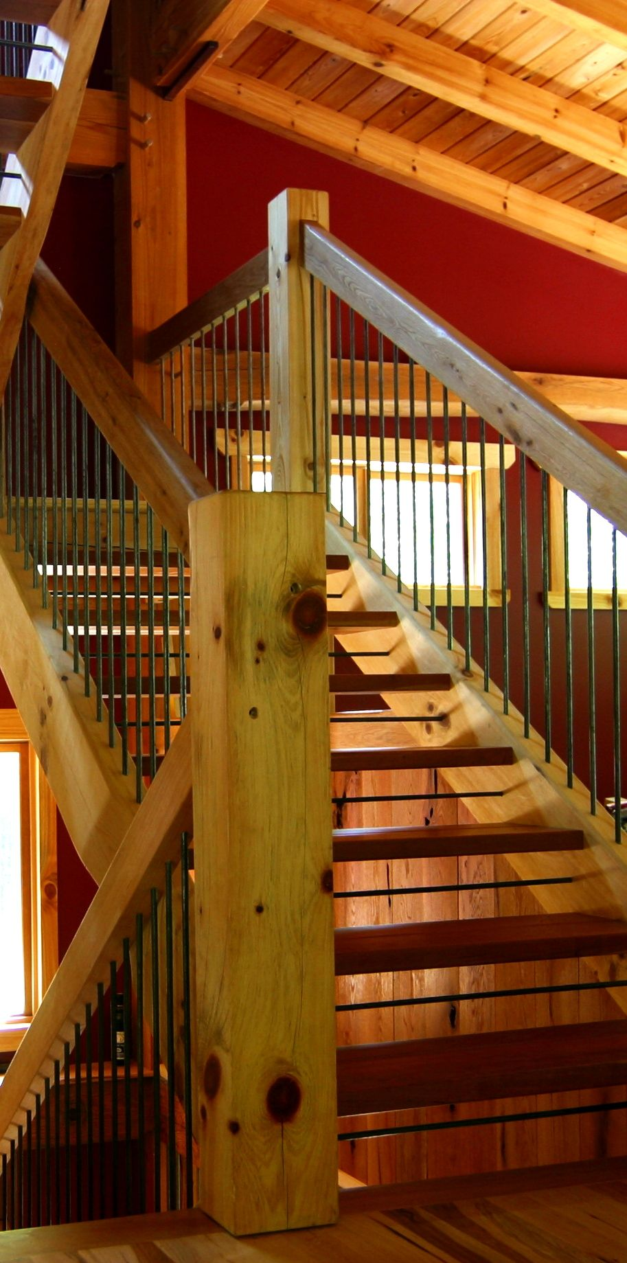 Nice Types Of Timber Frame Stair Systems   Timber Frame HQ   If Youu0027re Planning  To Build A Multi Storied Timber Frame Home, The Chances Are Pretty Good  Youu0027ll Be ...