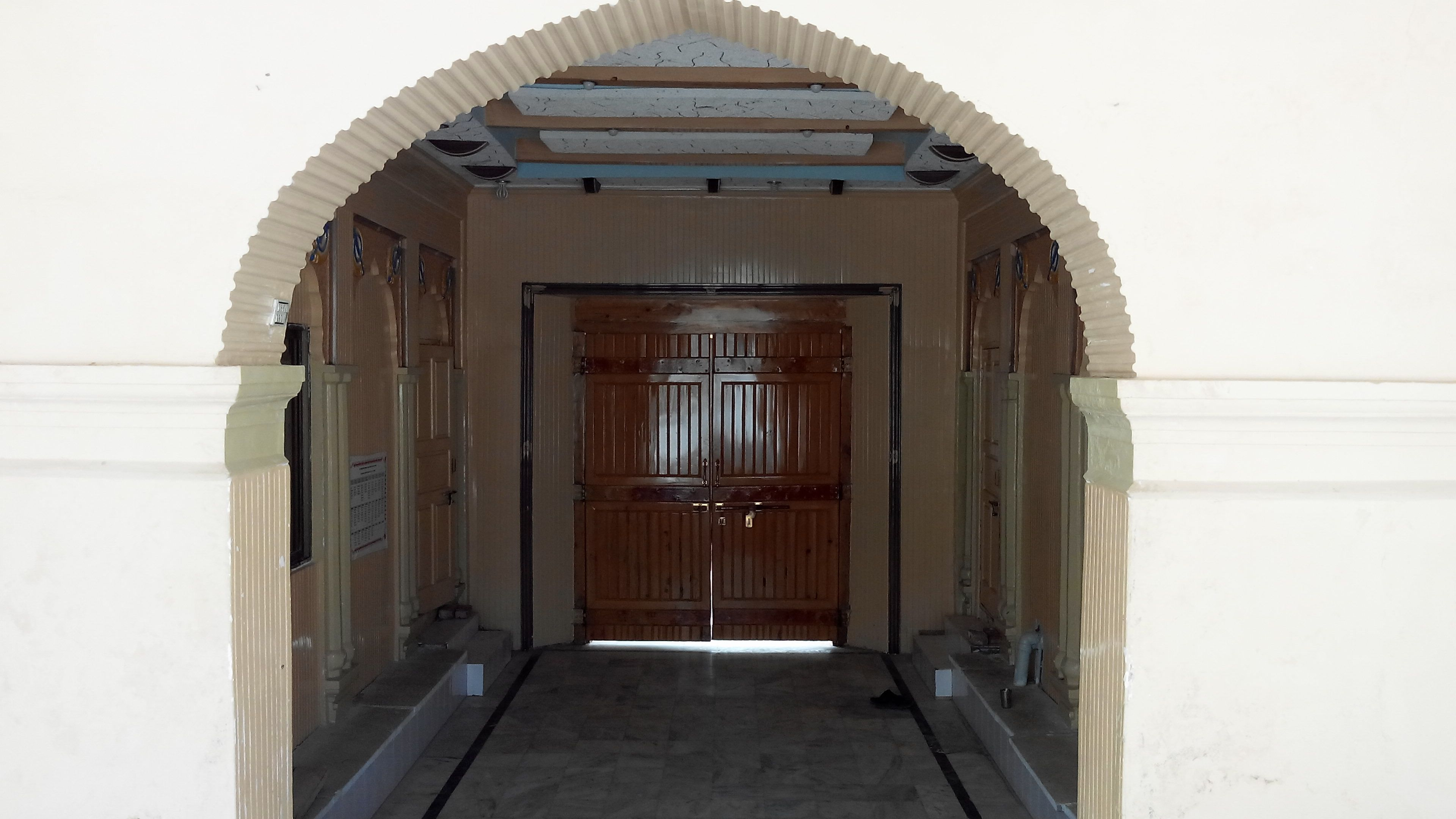 Entrance to Gurdwara Janam Asthan at Nankana Sahib