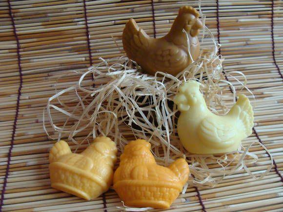 As galinhas são uma lembrança especial para o Chá de Cozinha
