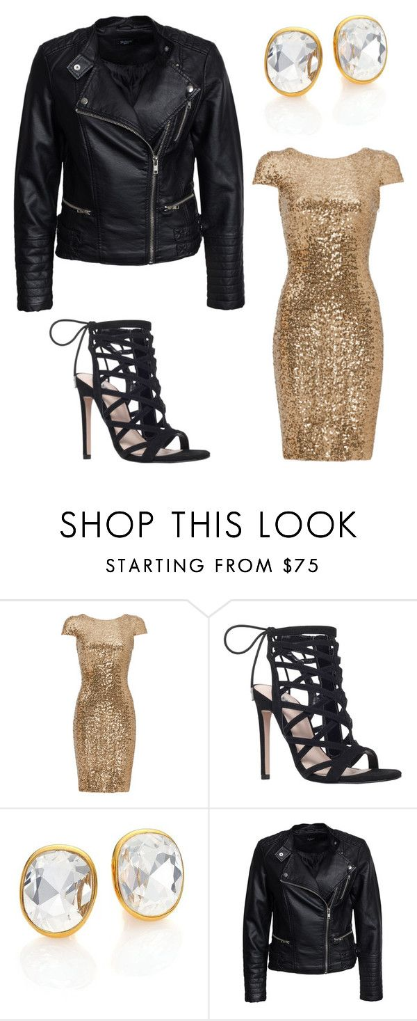 """""""Outfit Idea by Polyvore Remix"""" by polyvore-remix ❤ liked on Polyvore featuring Badgley Mischka, Carvela, Kenneth Jay Lane and Sisters Point"""