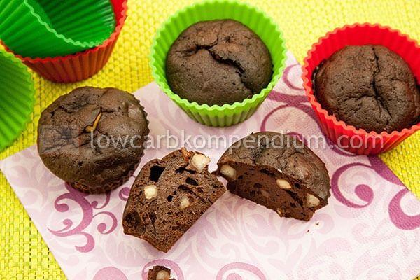 Und nun die Paranuss-Schoko-Muffins genießen.