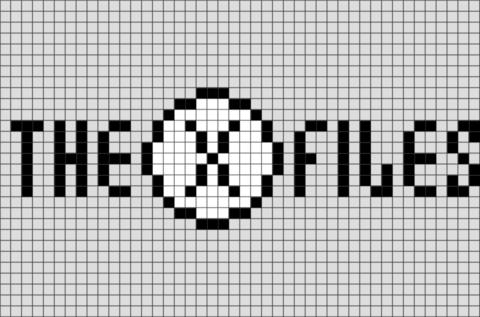 The X Files Pixel Art