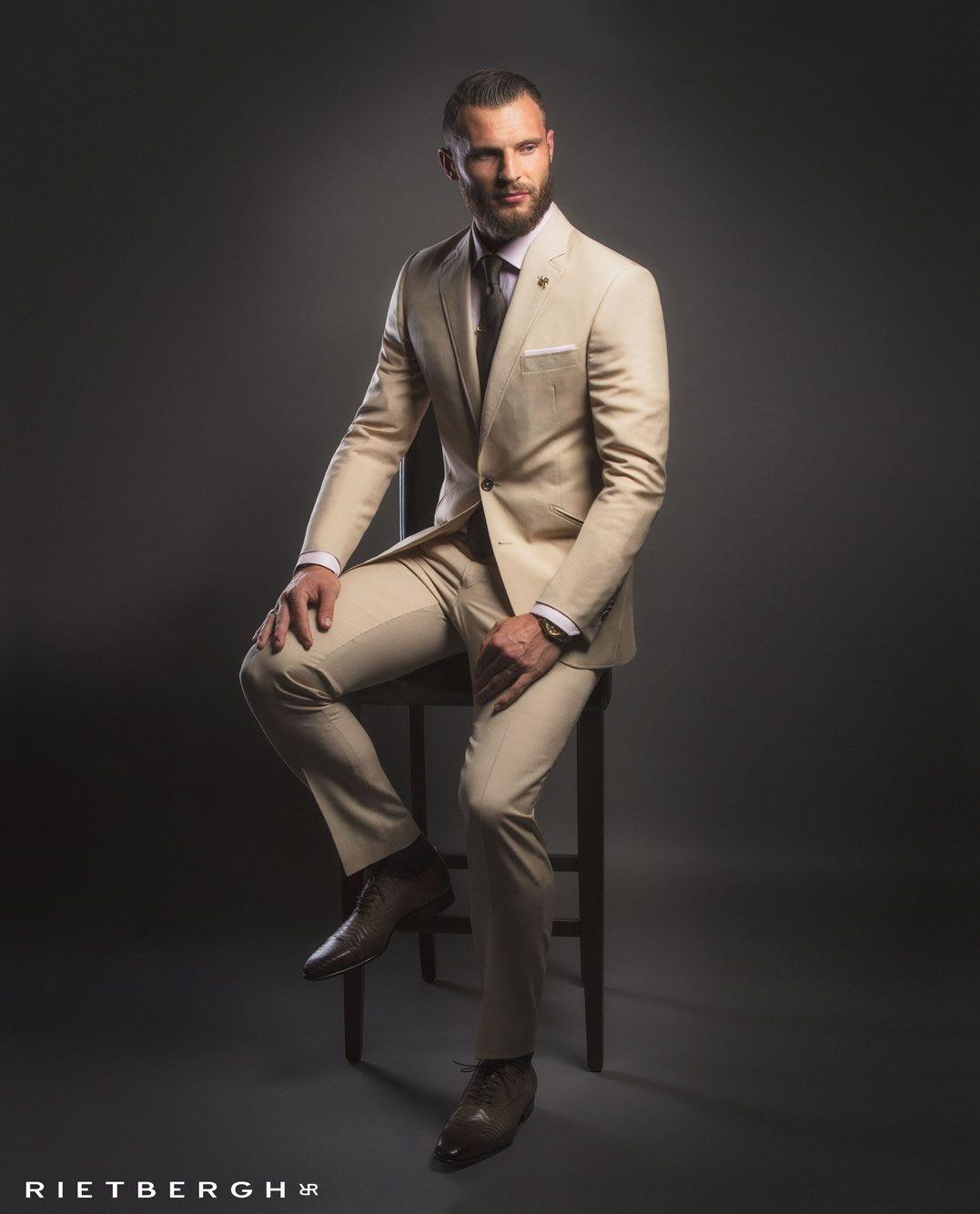 Beige wedding suit - Beige trouwpak Beige wedding suits - Beige ...
