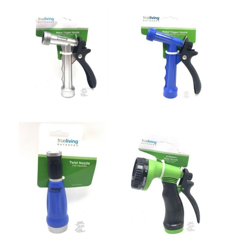 Shop Spray Nozzles All Types Plastic Metal Garden Hose Sprayers True Living Outdoor Online At Truegether Garden Hose Sprayer Metal Garden Hose Garden Hose