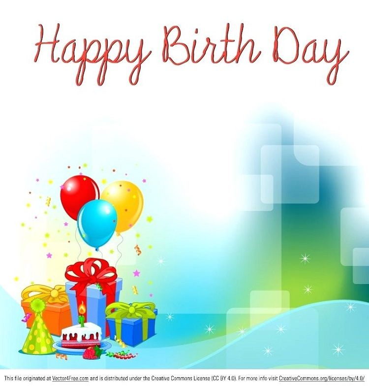 design happy birthday invitation card