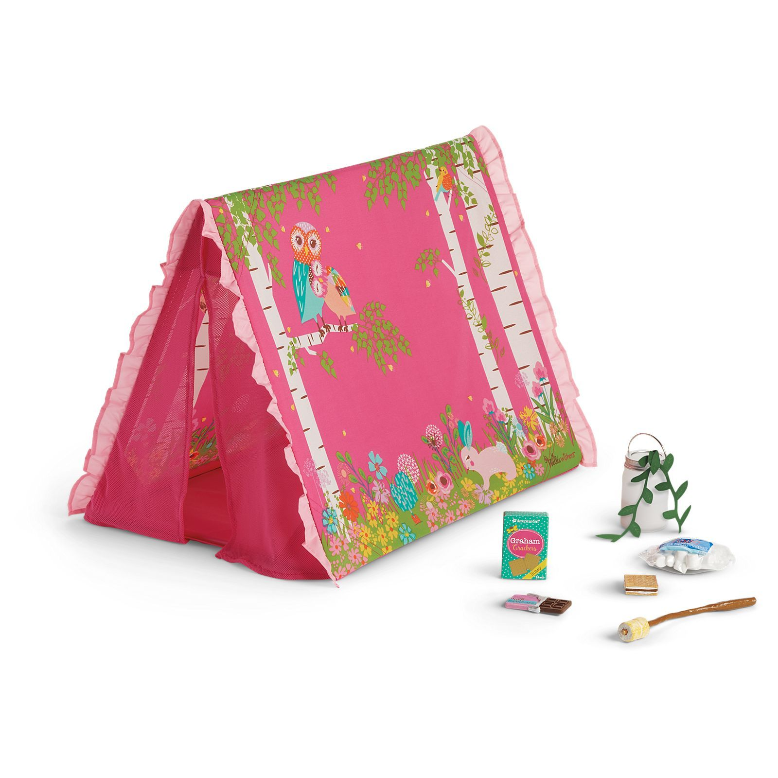 Sweet dreams garden tent for welliewishers dolls ryleigh lynn