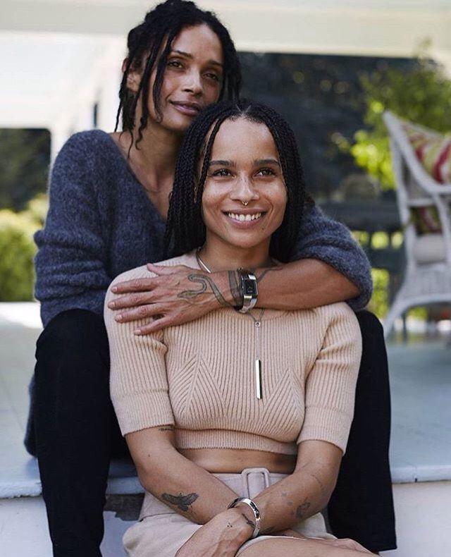 Zoë Kravitz And Lisa Bonet …