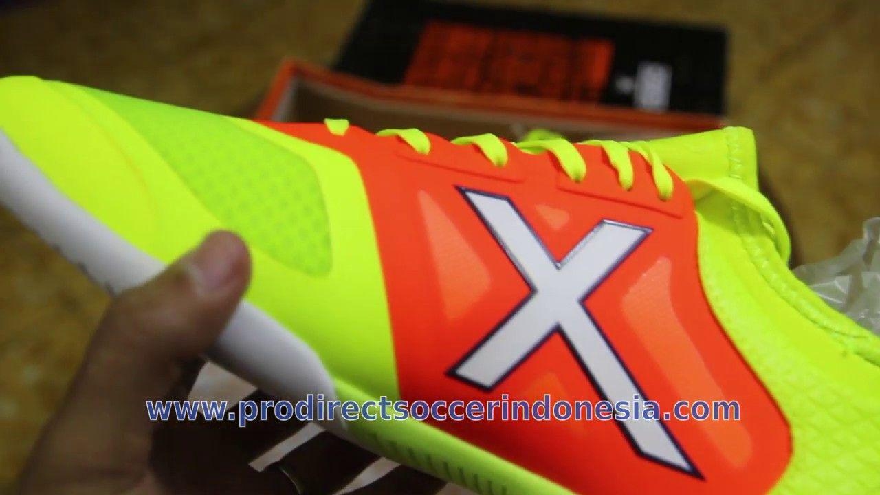 Sepatu Futsal Munich Tiga Indoor Lima Naranja Yellow Volt 3190023