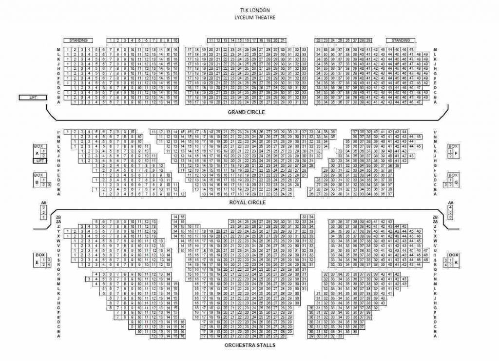 The Amazing Manchester Opera House Seating Plan How To Plan London Theatre