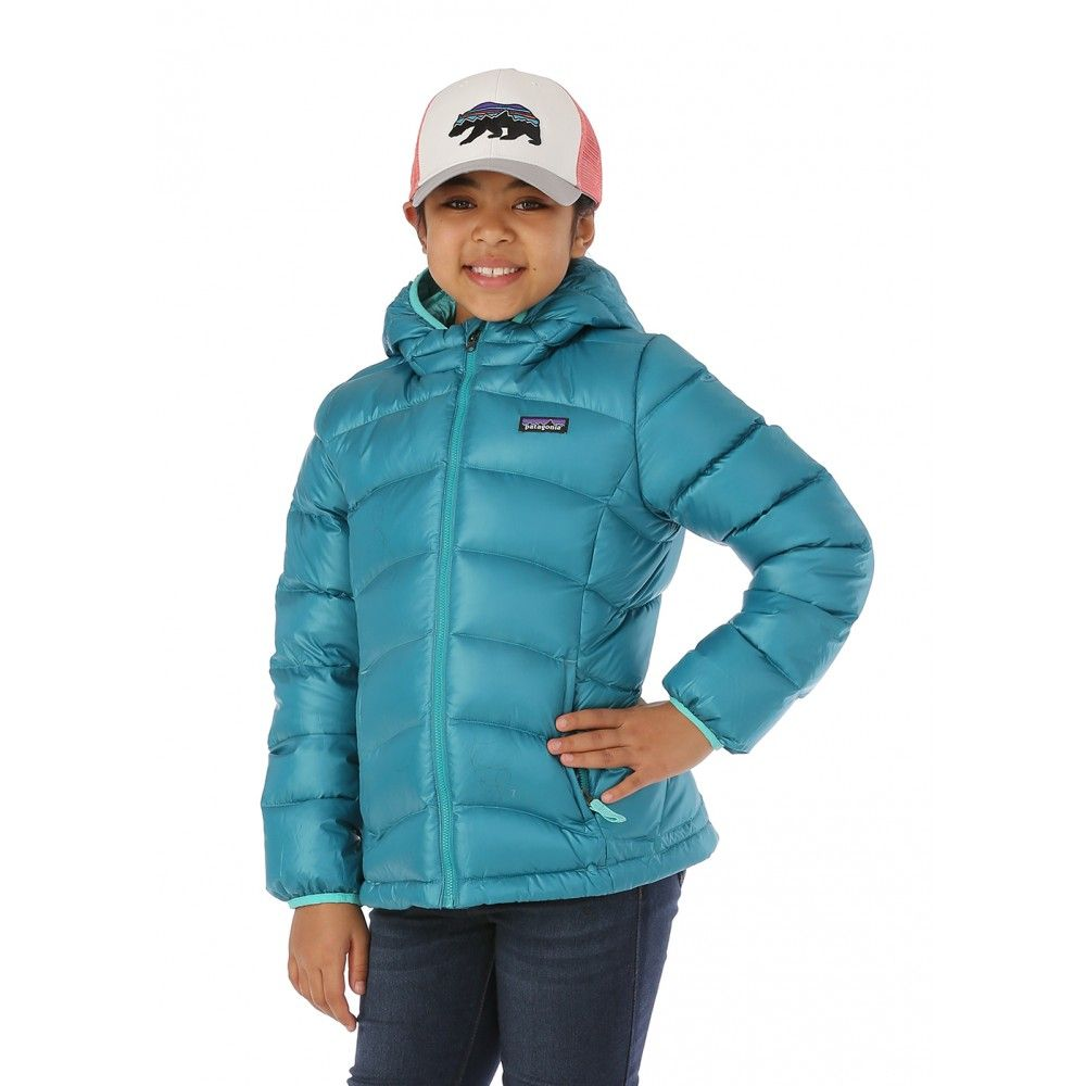 194dd2fc1 Patagonia Girls Hi-Loft Down Sweater Hoody