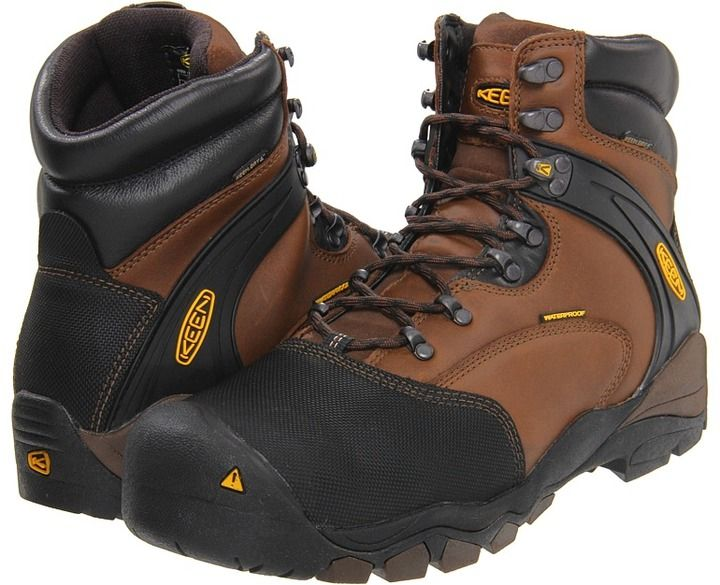 Keen louisville 6 steel toe boots mens lace up boots
