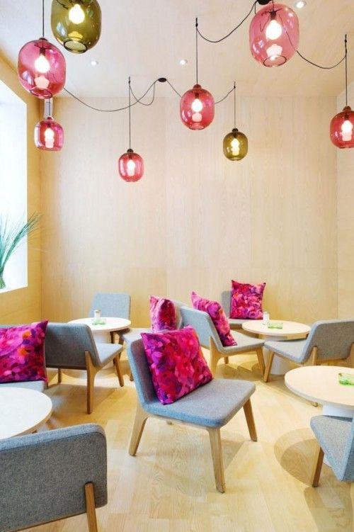 Great Cozy Cafe Foam Interior Design By Note Design Studio