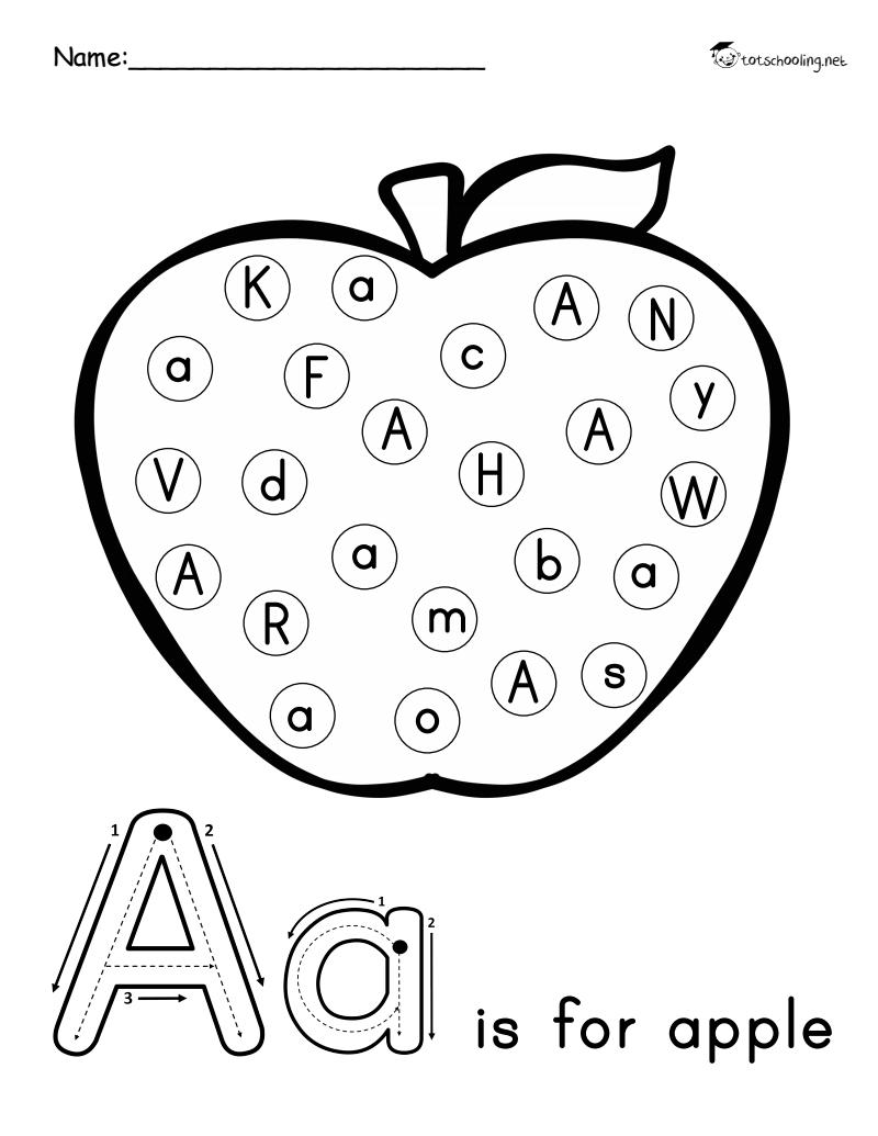 Pagina 2 din 27 Letter recognition worksheets, Alphabet