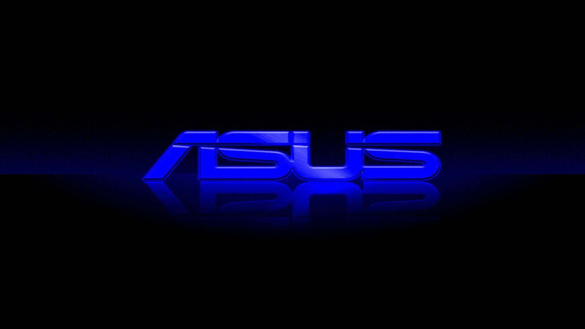 Asus Logo Blue Hd Wallpaper Logo Wallpaper Hd Gaming Wallpapers Hd Logos