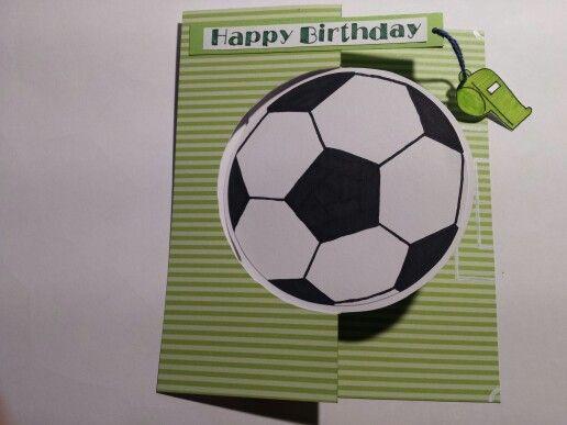 Geburtstagskarte Fussball Geburtstagskarte Kind Karten