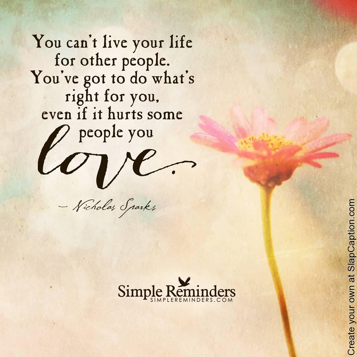 Live Your Own Life Quotes: Pin By Hailey Zabransky On Quotes/ E Cards