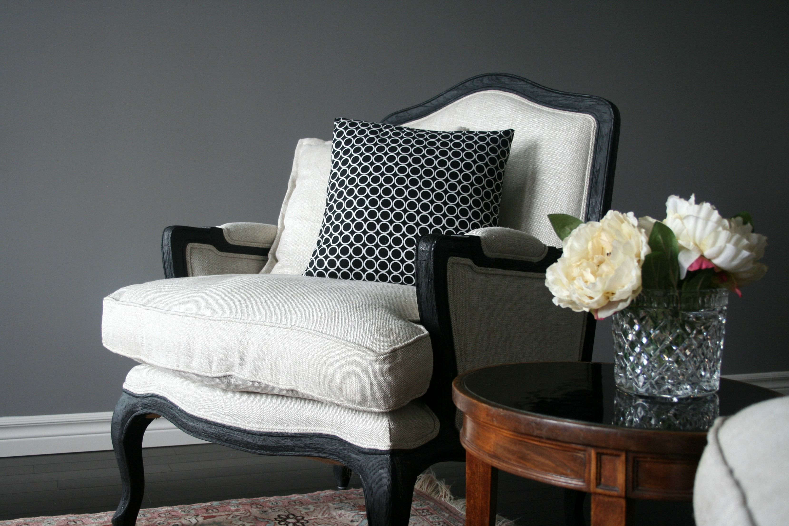 Living Room   Marseilles Chair From Restoration Hardware
