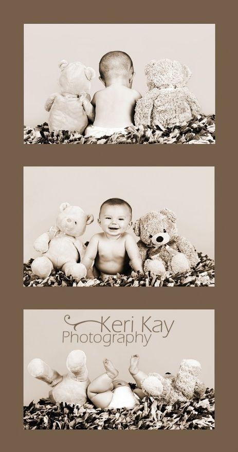 Cute baby shoot with stuffed animals | repinned by an #Reiseagentur für #Kitareisen und #Klassenfahrten from #Berlin / #Germany - www.altai-adventure.de | Follow us on www.facebook.com/AltaiAdventure#!/AltaiAdventure