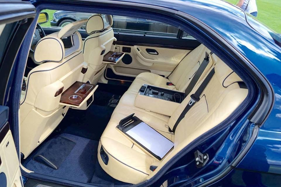Bmw E38 750il Individual Rear Seat With Images Bmw E38 Bmw