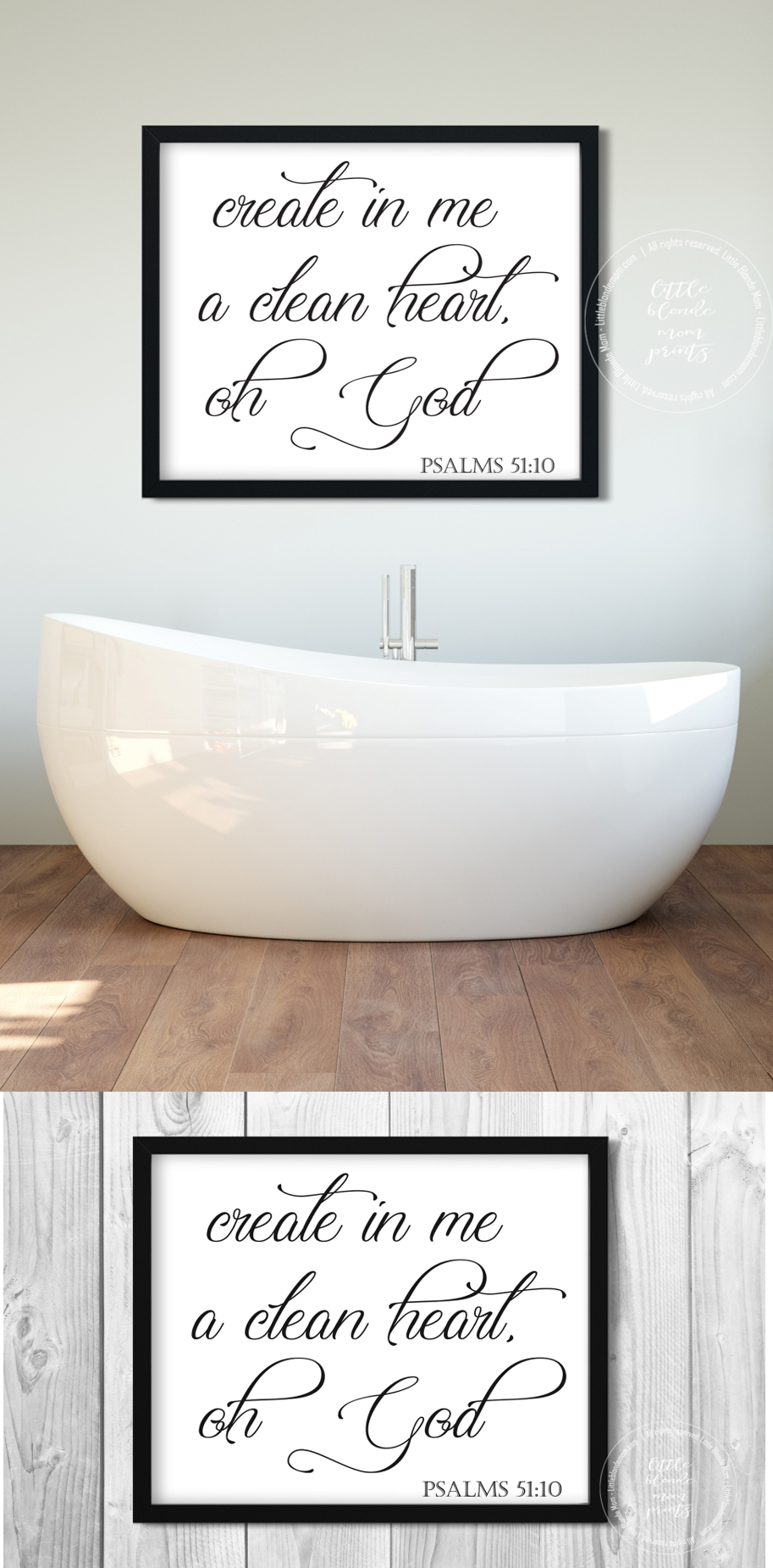 Bathroom Wall Art Bible Verse Scripture Christian Decor Etsy Bathroom Wall Art Bathroom Art Decor Christian Decor