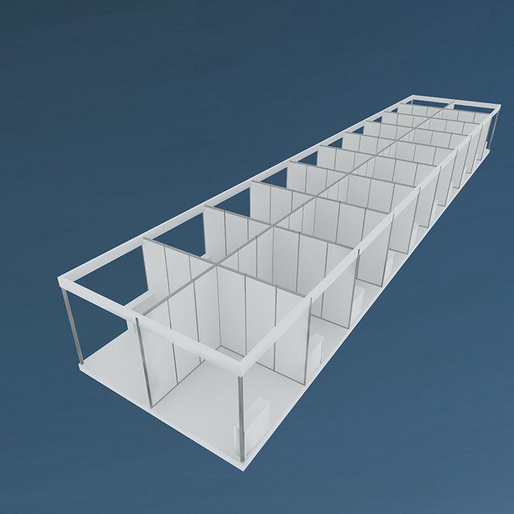 Aluminium Modular Exhibition Booth Partition Walls Buy Shanghai