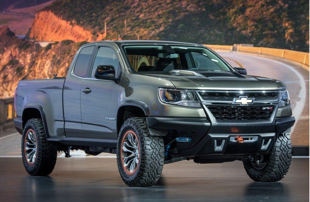 Colorado Zr2 2017 Chevrolet Concept Los Angeles Auto Show