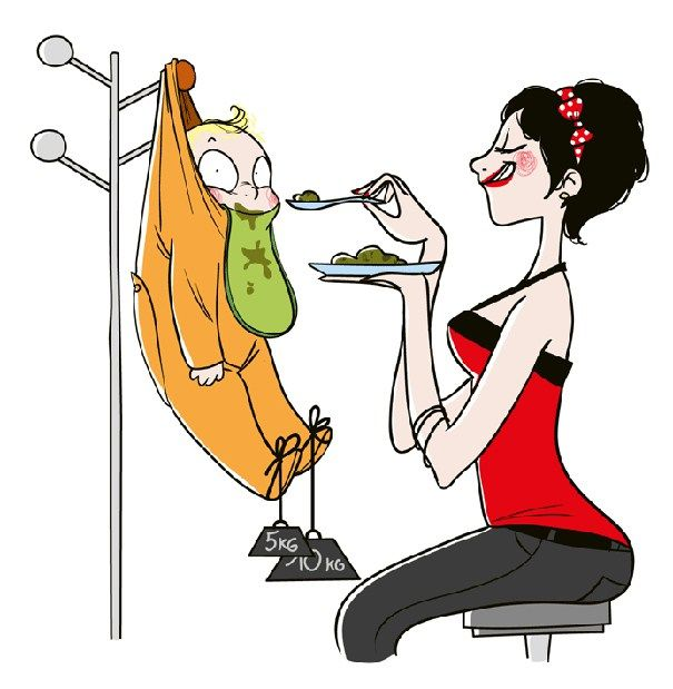 Annelik hakkında Nathalie Jomarddan harika karikatürler.