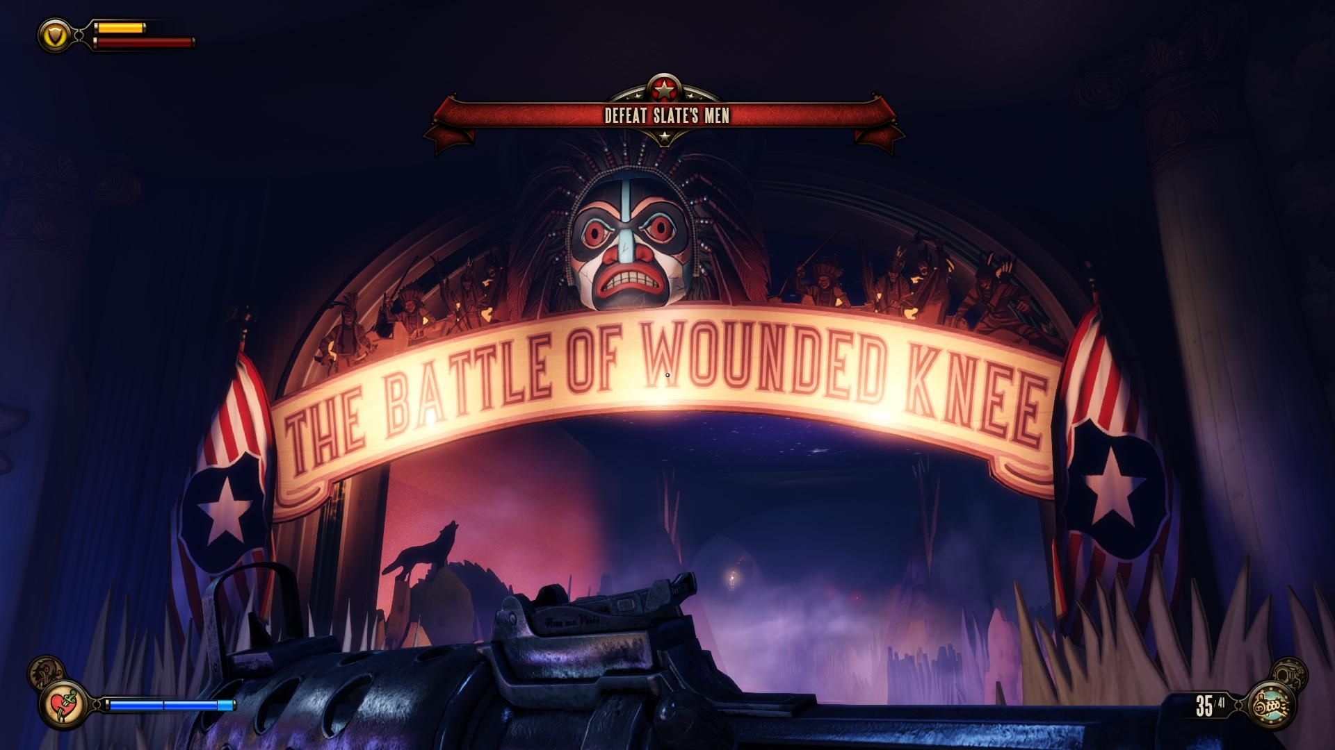 Bioshock Infinite Signage From The Hall Of Heroes Bioshock Bioshock Infinite Infinite