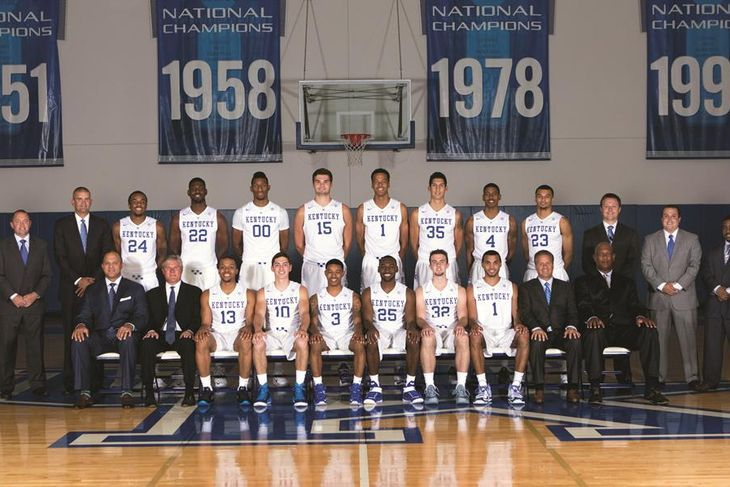 Kentucky Wildcats Basketball Team Photo for 2015-16 Squad ...