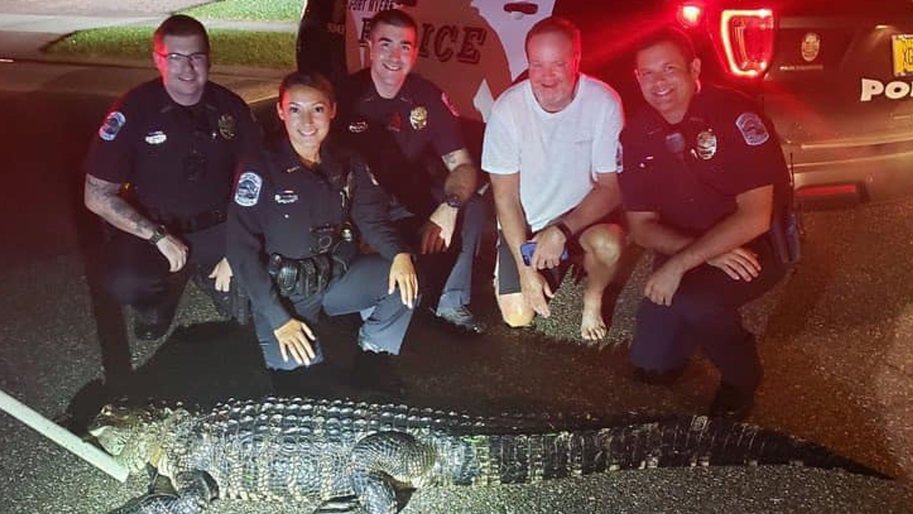 Florida family surprised by alligator at 2 a.m. Fort