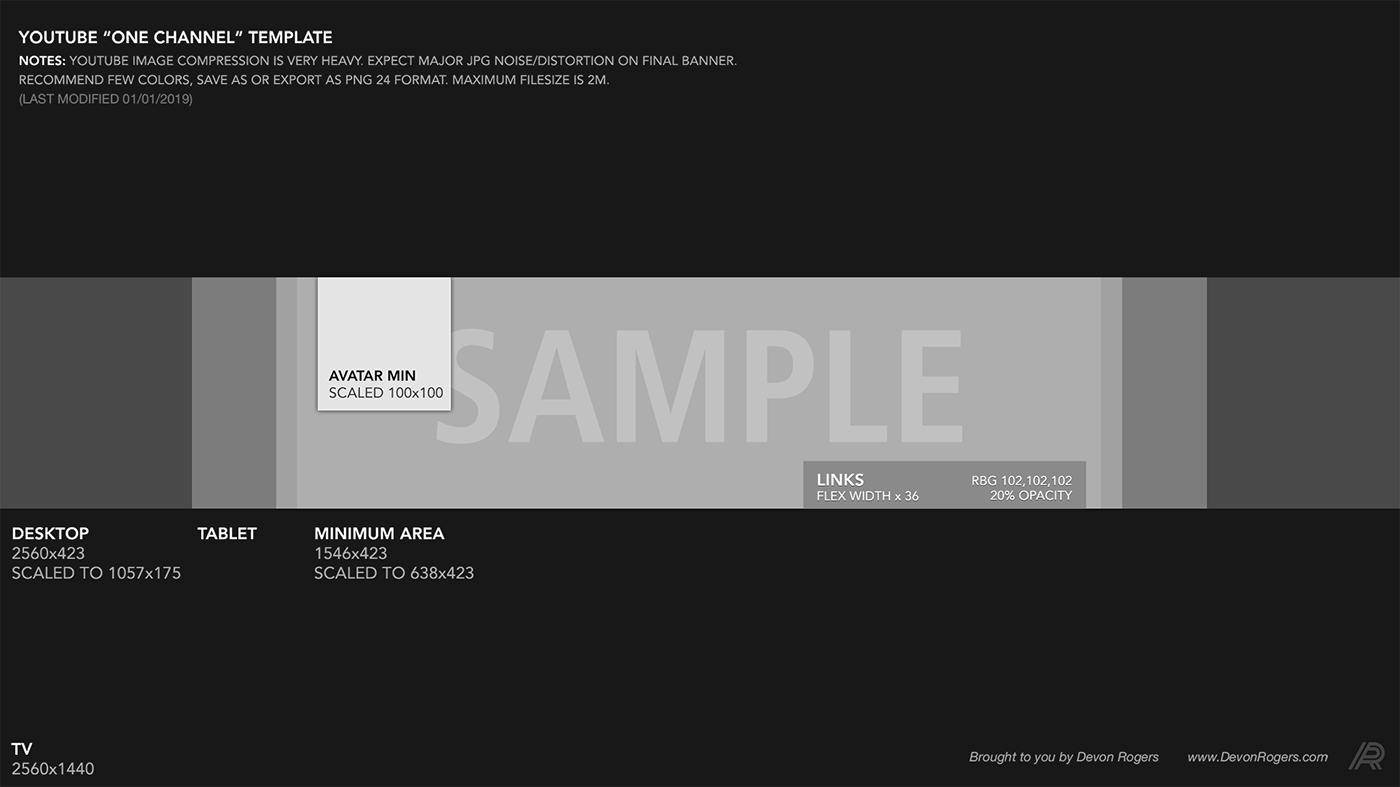 Youtube Background Template 2019 Free Download Psd On Behance Youtube Banner Template Banner Template Photoshop Free Banner Templates