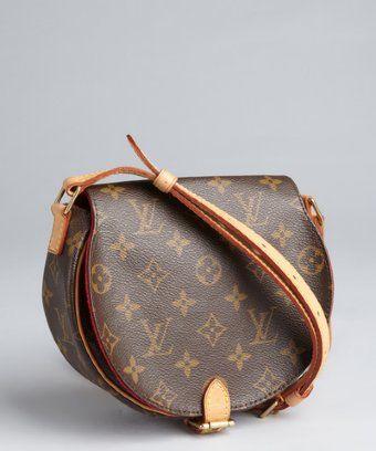 Louis Vuitton Brown Monogram Canvas Vintage Crossbody Bag Vintage Crossbody Bag Vintage Bags Bags