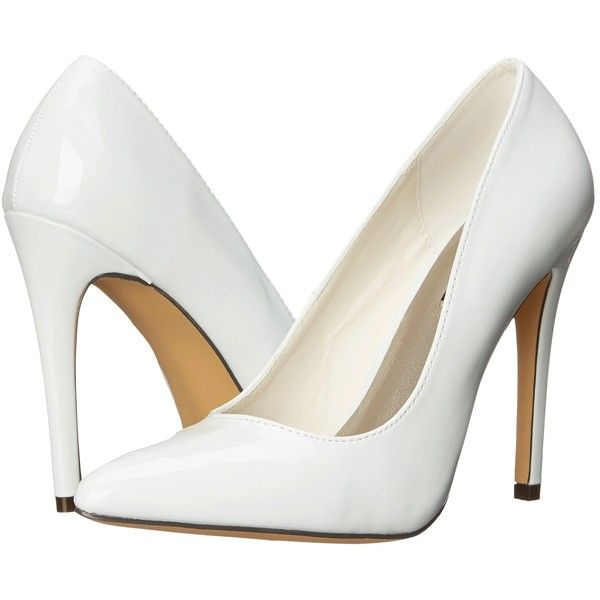 f7452a4894a Michael Antonio Lamiss - Patent (White Patent) High Heels ( 30) ❤ liked