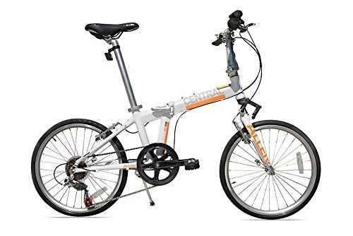 Allen Sports Central Aluminum 7 Speed Folding Bicycle With