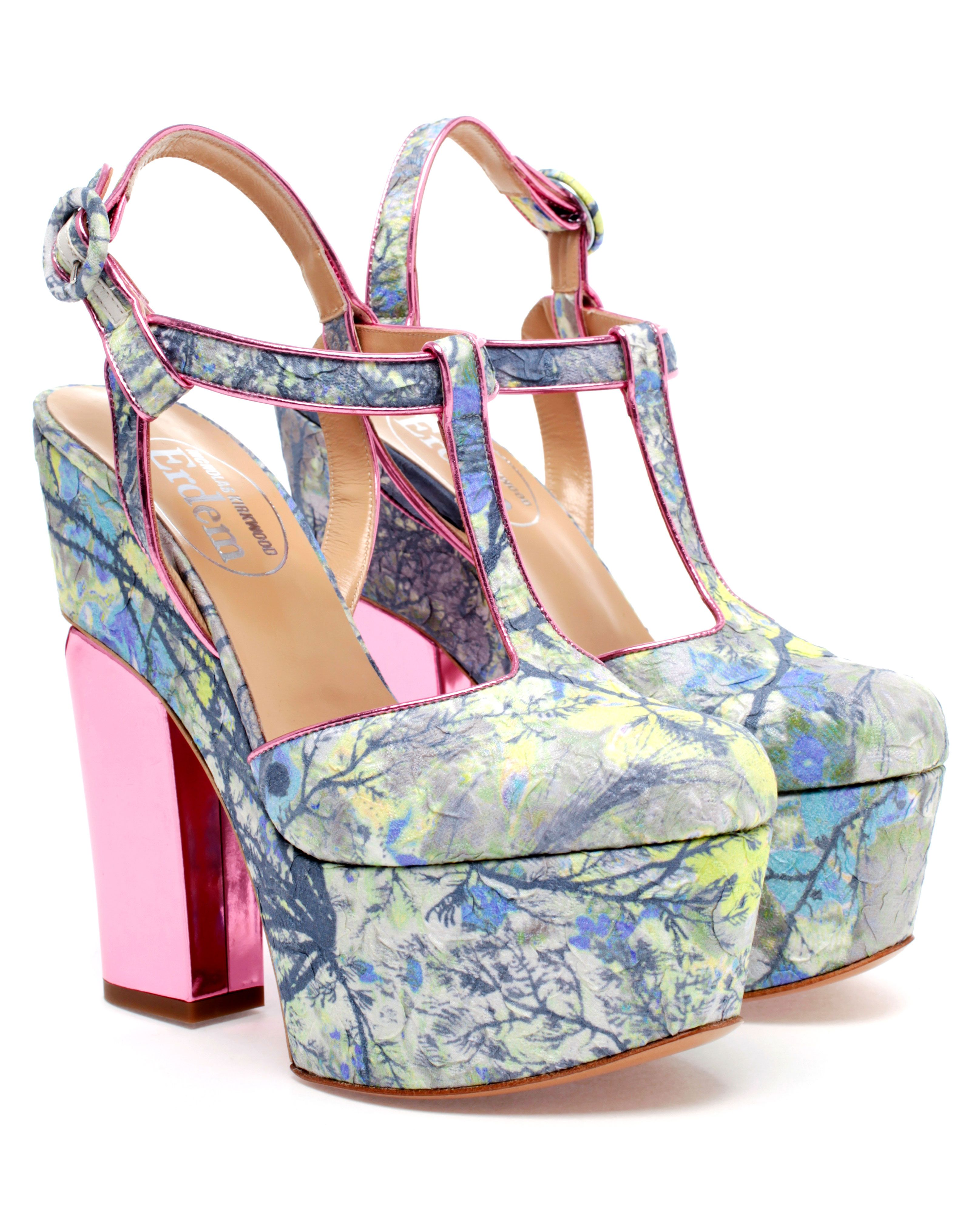 NICHOLAS KIRKWOOD | Floral Brocade Platform Pumps | Browns fashion & designer clothes & clothing