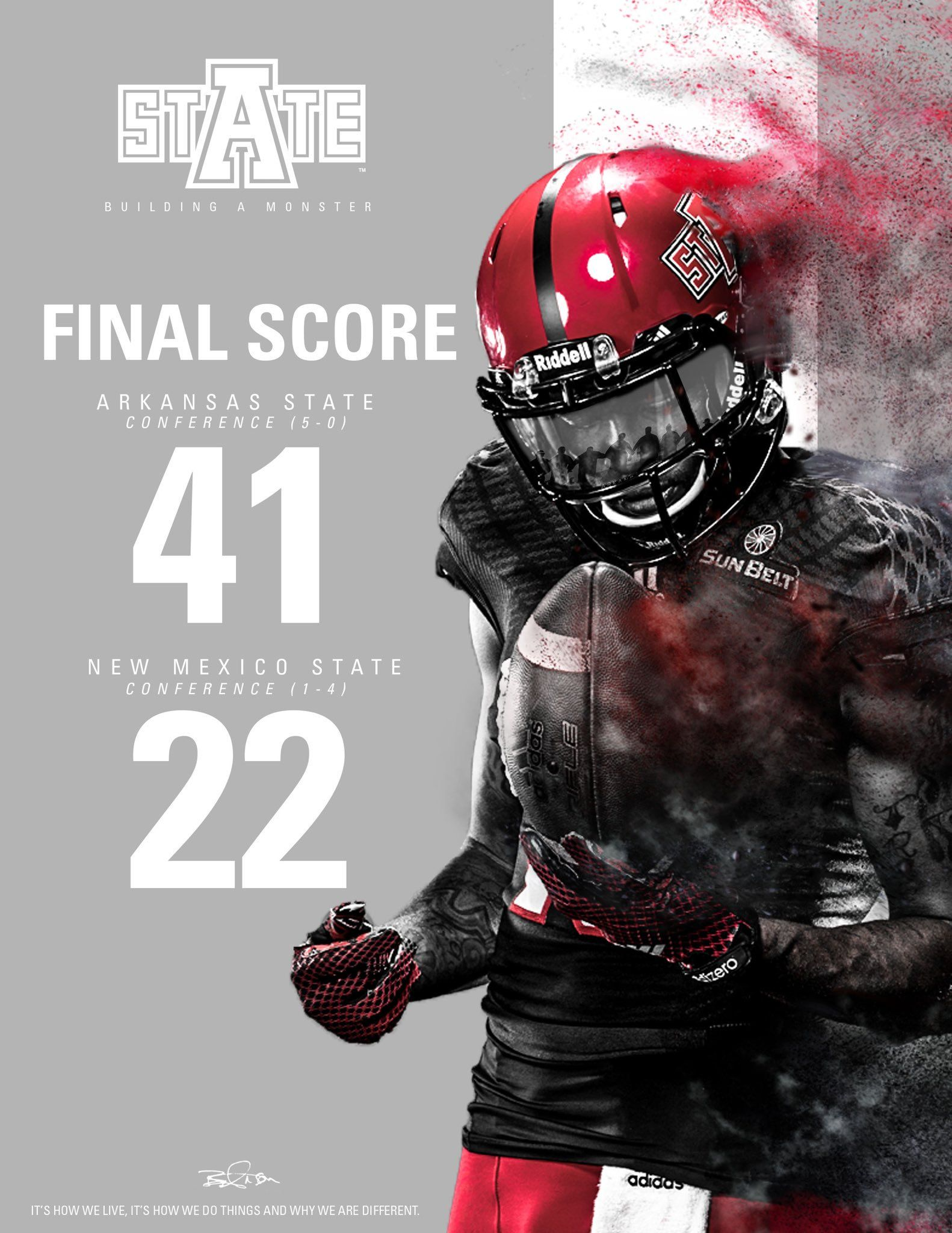 Media Tweets by AState Football (RedWolvesFBall