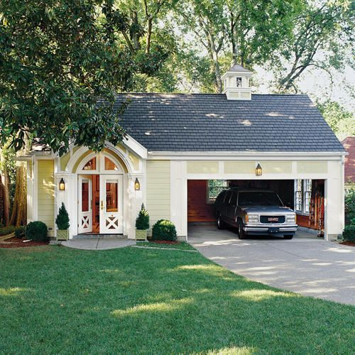 Change A Garage Into Mini Cottage For Guests Southern Living