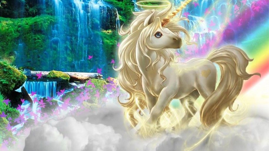 Beautiful 3d Picture Unicorn Silk Clouds Rainbow Wallpaper Hd Unicorn Wallpaper Unicorn Backgrounds Unicorn Pictures