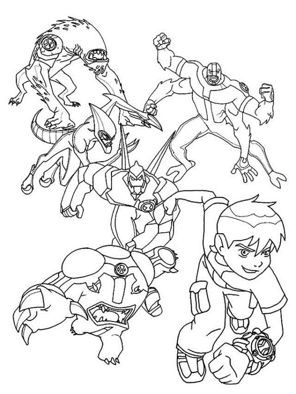 Ben 10 Ultimate Spider Monkey Coloring Pages New Coloring Pages Ben 10 Para Colorir Ben 10 Folhas Para Colorir