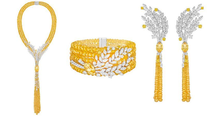 #LesBlesdeChanel, a high jewelry collection inspired by the theme of wheat, a…