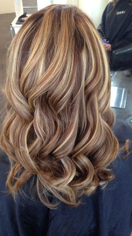 Coole Frisuren Moderne Haarschnitte Rote Haare Mit Blonden Strahnen Haarschnitt Coole Frisuren Haarfarben