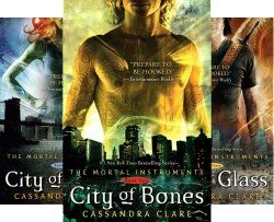 The Mortal Instruments by Cassandra Clare (6 Books) (she has the first one)